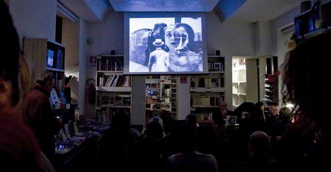 Kiwido Federico Carra Editore - Proiezione Paolo Gioli - Anonimatografo
